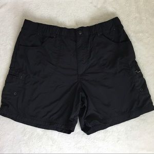 Columbia Women's Black Nylon Shorts Sz M